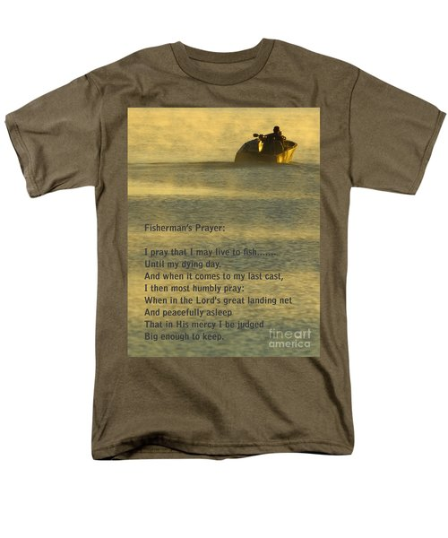 Fisherman's Prayer Men's T-Shirt  (Regular Fit) by Robert Frederick