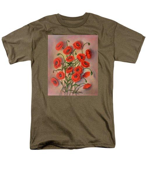 Flander's Poppies Men's T-Shirt  (Regular Fit)