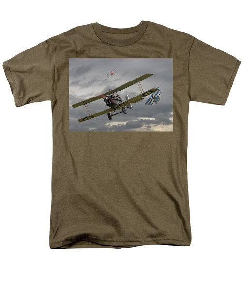 Flander's Skies Men's T-Shirt  (Regular Fit) by Pat Speirs