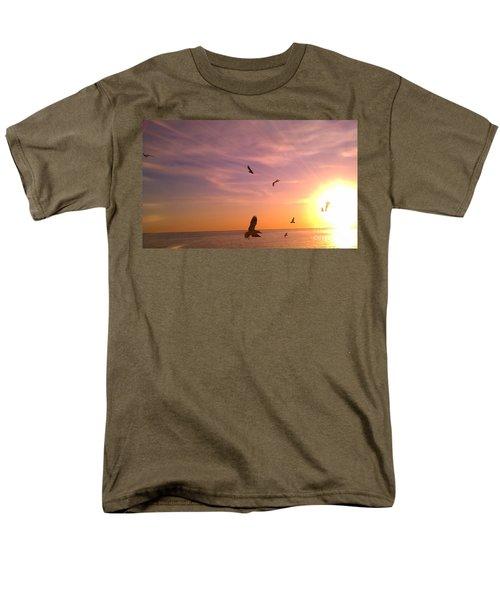 Flight Into The Light Men's T-Shirt  (Regular Fit) by Chris Tarpening