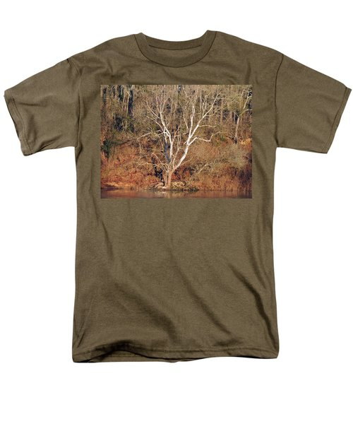 Men's T-Shirt  (Regular Fit) featuring the photograph Flint River 25 by Kim Pate