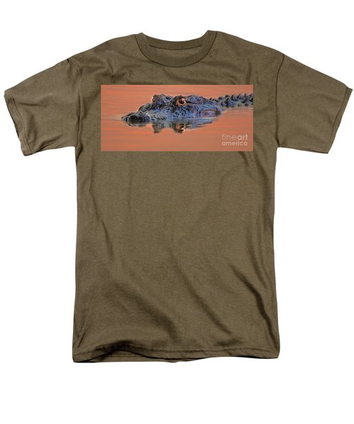 Men's T-Shirt  (Regular Fit) featuring the photograph Alligator For Florida  by Luana K Perez
