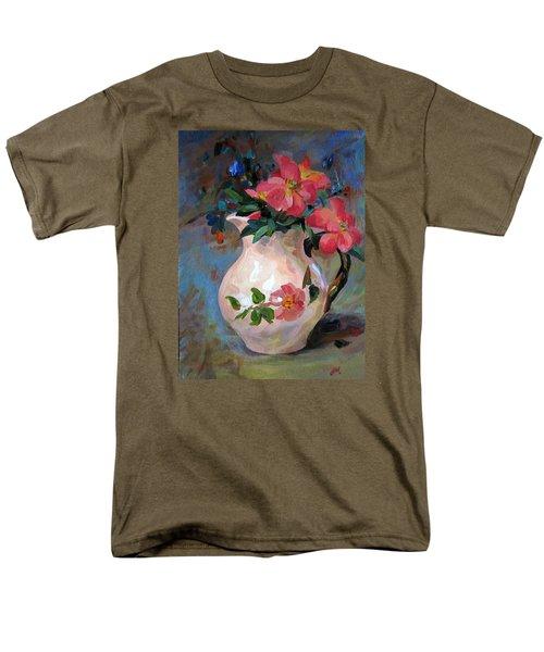Flower In Vase Men's T-Shirt  (Regular Fit)