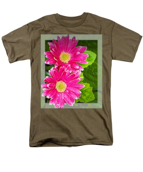 Flower1 Men's T-Shirt  (Regular Fit) by Walter Herrit