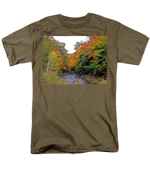 Flowing Into October Men's T-Shirt  (Regular Fit) by MTBobbins Photography