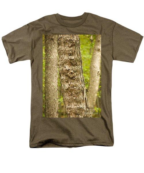 Men's T-Shirt  (Regular Fit) featuring the photograph Fluted Tree by Carol Lynn Coronios