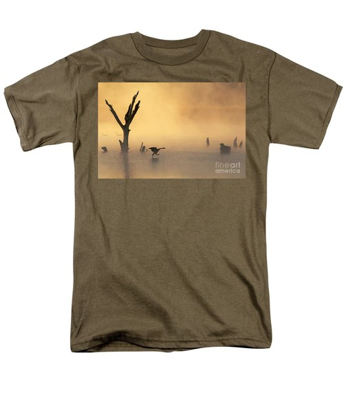 Foggy Landing Men's T-Shirt  (Regular Fit)