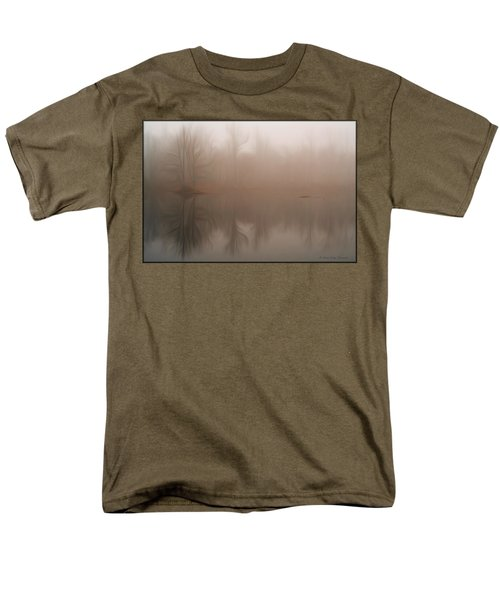 Foggy Reflection Men's T-Shirt  (Regular Fit)