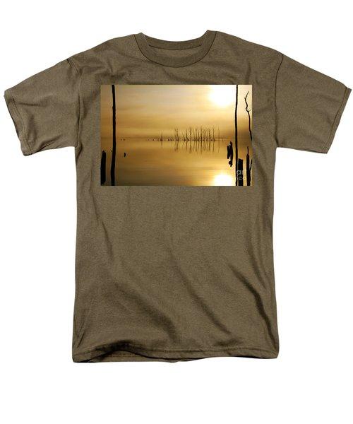 Foggy Rise Men's T-Shirt  (Regular Fit) by Roger Becker