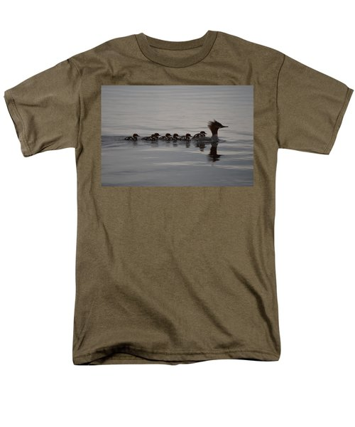 Men's T-Shirt  (Regular Fit) featuring the photograph Following Mom by James Petersen