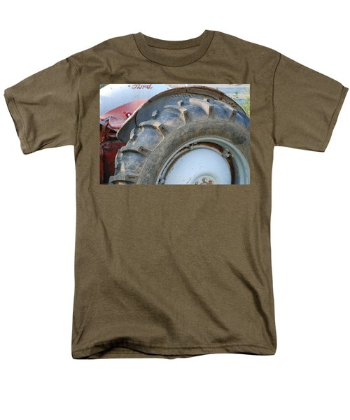 Men's T-Shirt  (Regular Fit) featuring the photograph Ford Tractor by Jennifer Ancker