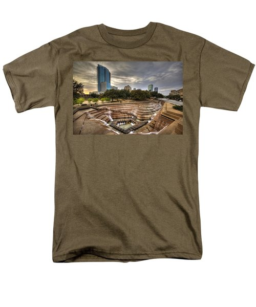Fort Worth Water Garden Men's T-Shirt  (Regular Fit) by Jonathan Davison