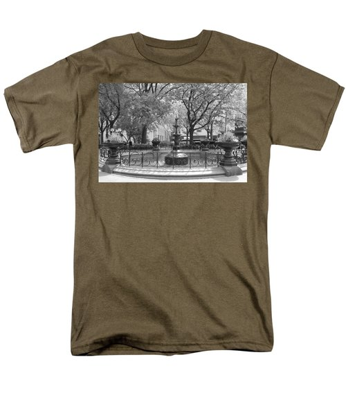 Fountain Time Men's T-Shirt  (Regular Fit) by Catie Canetti