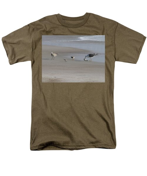 Four Feathers And A Fish Men's T-Shirt  (Regular Fit) by Ellen Meakin