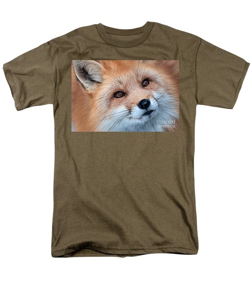 Men's T-Shirt  (Regular Fit) featuring the photograph Foxy Lady by Bianca Nadeau