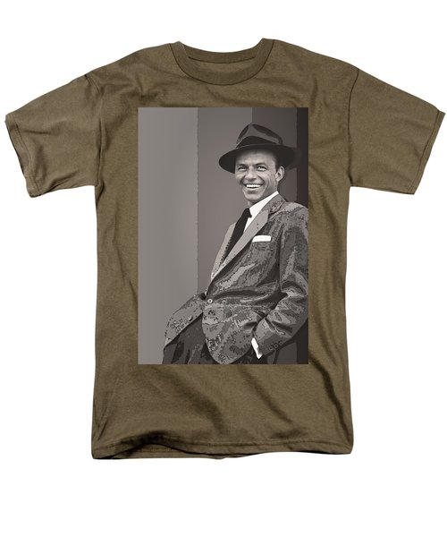 Frank Sinatra Men's T-Shirt  (Regular Fit) by Daniel Hagerman