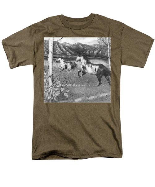 Freedom Run Men's T-Shirt  (Regular Fit)