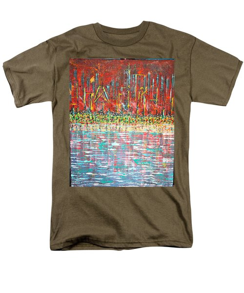 Friday At The Beach - Sold Men's T-Shirt  (Regular Fit) by George Riney