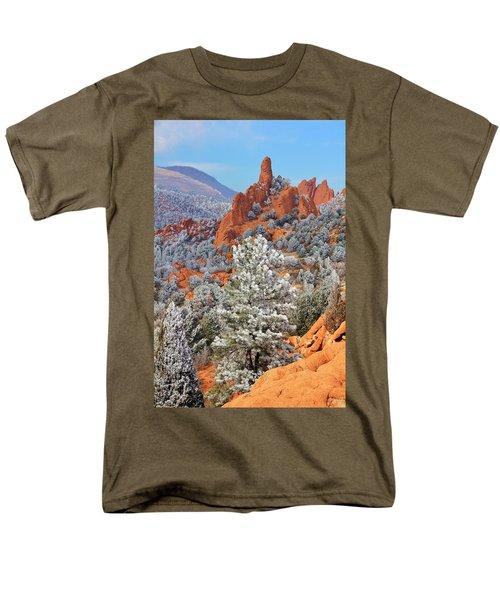 Frosted Wonderland 1 Men's T-Shirt  (Regular Fit) by Diane Alexander