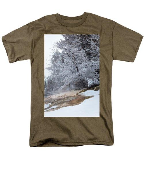 Frozen Tree Men's T-Shirt  (Regular Fit)