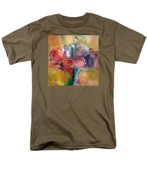 Fruit Bowl No.1 Men's T-Shirt  (Regular Fit) by Michelle Abrams