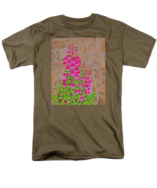 Fuchsia Profusion Men's T-Shirt  (Regular Fit) by Donna  Manaraze