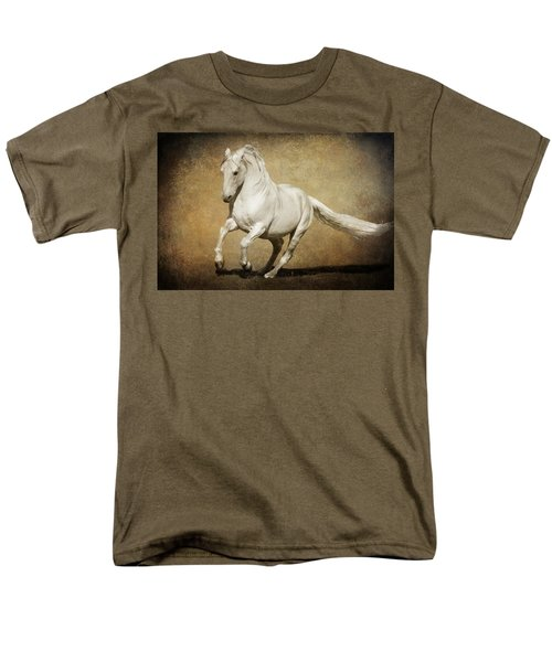 Men's T-Shirt  (Regular Fit) featuring the photograph Full Steam Ahead by Wes and Dotty Weber