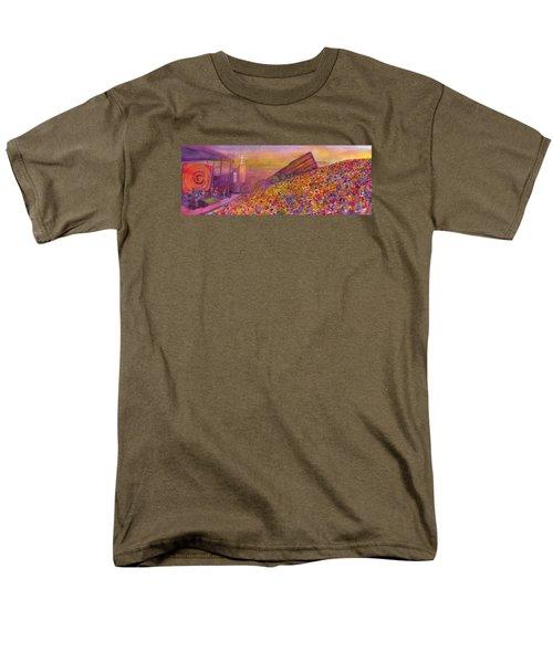Furthur At Redrocks 2011 Men's T-Shirt  (Regular Fit) by David Sockrider