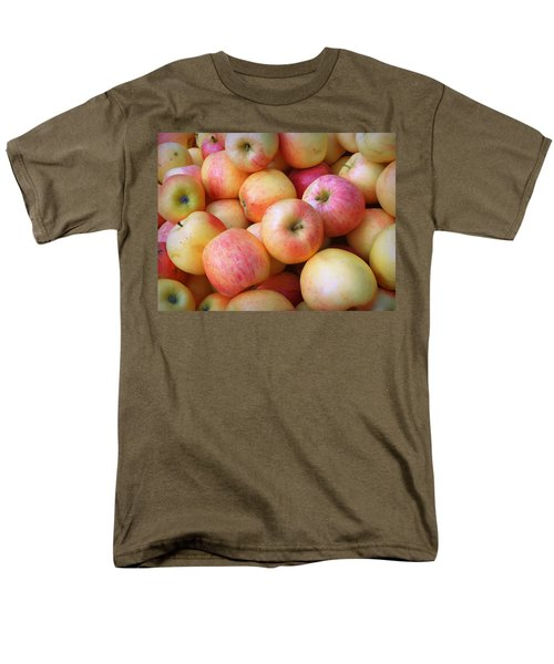 Men's T-Shirt  (Regular Fit) featuring the photograph Gala Apples by Joseph Skompski