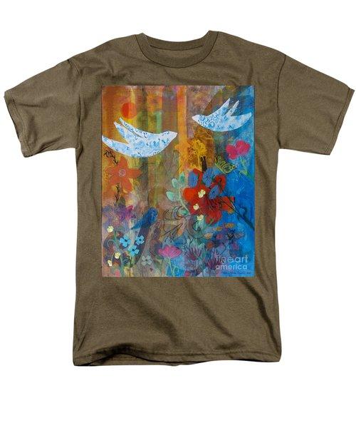 Garden Of Love Men's T-Shirt  (Regular Fit) by Robin Maria Pedrero