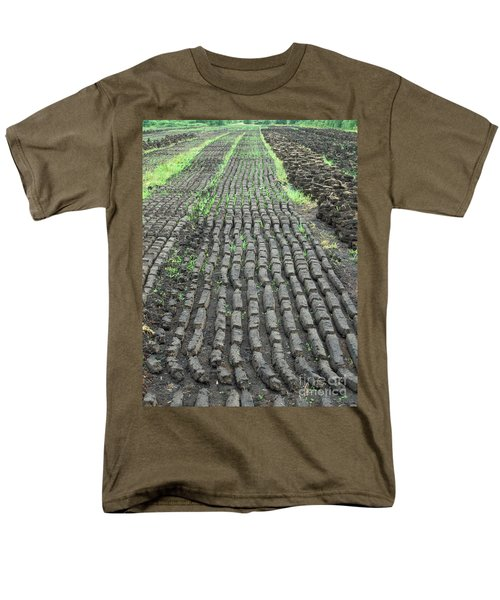Men's T-Shirt  (Regular Fit) featuring the photograph Garden Of Peat by Brenda Brown