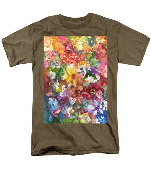 Garden - The Secret Life Of The Leftover Paint Men's T-Shirt  (Regular Fit)