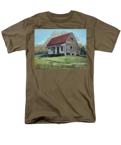 Gates Chapel - Ellijay Ga - Old Homestead Men's T-Shirt  (Regular Fit) by Jan Dappen