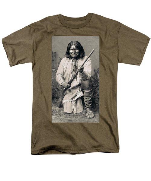 Geronimo - 1886 Men's T-Shirt  (Regular Fit) by Daniel Hagerman