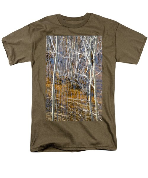 Men's T-Shirt  (Regular Fit) featuring the photograph Ghost Willows by Brian Boyle