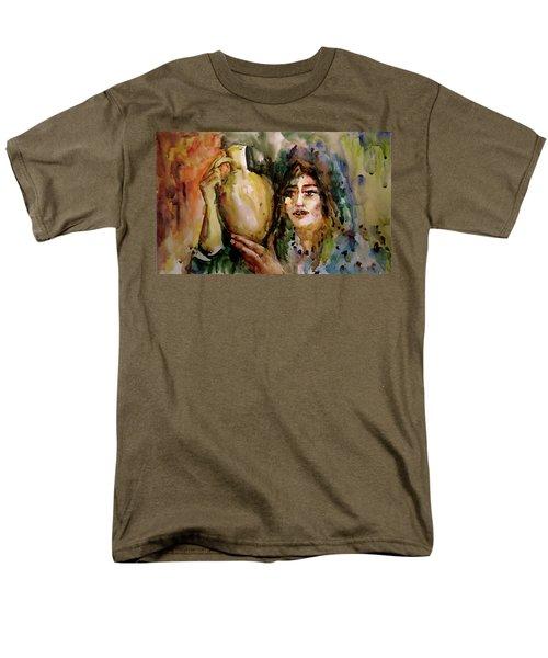 Girl With A Jug. Men's T-Shirt  (Regular Fit) by Faruk Koksal