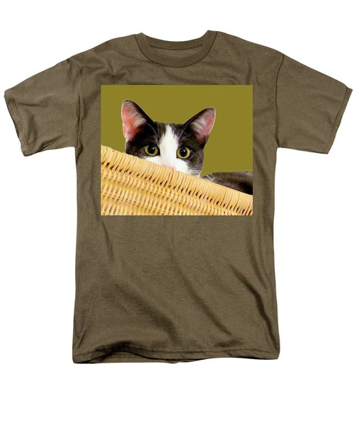 Men's T-Shirt  (Regular Fit) featuring the photograph Girlie Cat  by Janette Boyd