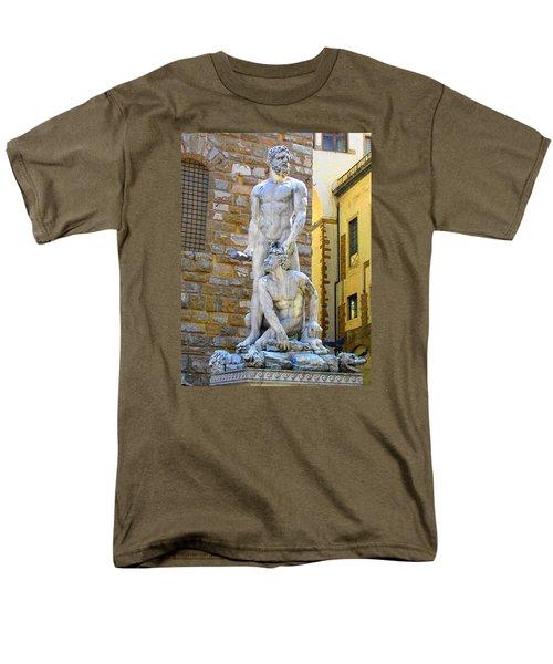 Glance At Hercules And Casus Men's T-Shirt  (Regular Fit) by Oleg Zavarzin