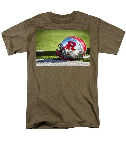 Go Rutgers Men's T-Shirt  (Regular Fit) by Eduard Moldoveanu
