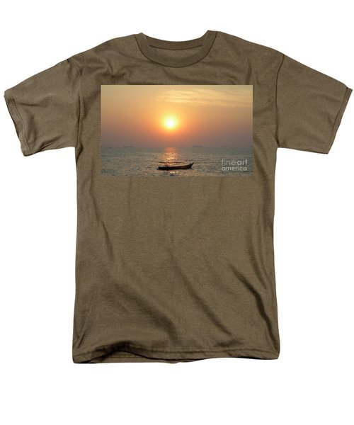 Goa Sunset Men's T-Shirt  (Regular Fit) by Mini Arora