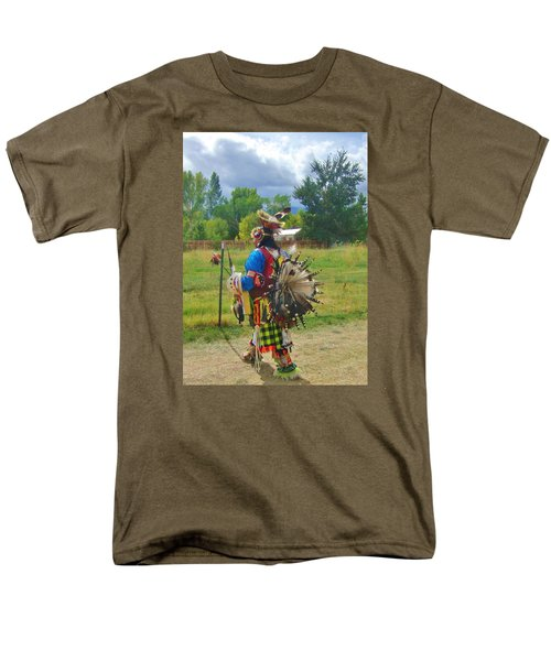 Going To The Pow Wow Men's T-Shirt  (Regular Fit) by Marilyn Diaz