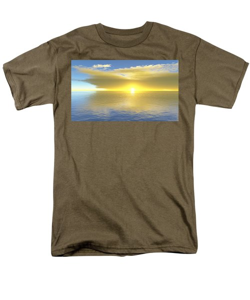 Gold Coast Men's T-Shirt  (Regular Fit) by Mark Greenberg