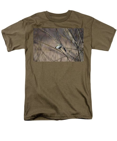 Men's T-Shirt  (Regular Fit) featuring the photograph Golden-crowned Kinglet by James Petersen