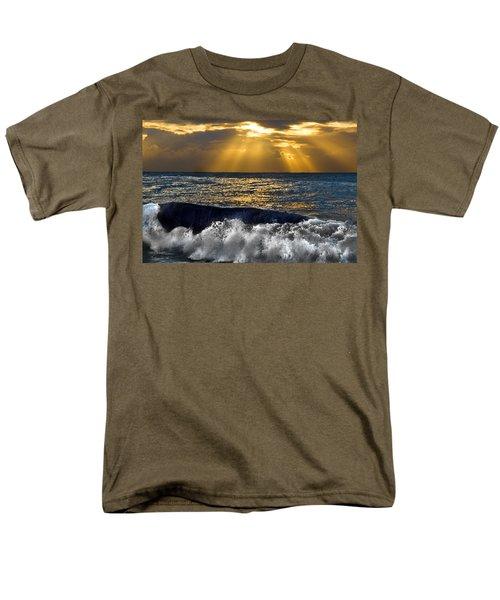Golden Eye Of The Morning Men's T-Shirt  (Regular Fit) by Miroslava Jurcik