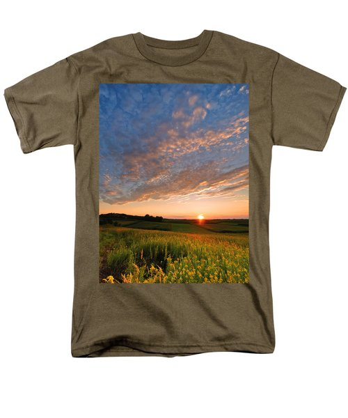 Golden Fields Men's T-Shirt  (Regular Fit) by Davorin Mance