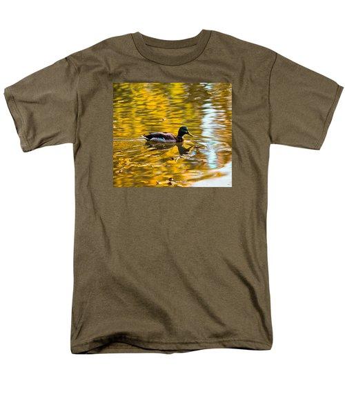 Men's T-Shirt  (Regular Fit) featuring the photograph Golden   Leif Sohlman by Leif Sohlman