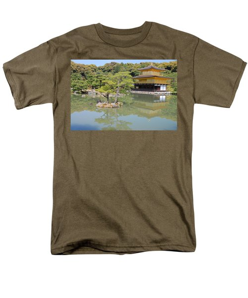Golden Pavilion Men's T-Shirt  (Regular Fit) by Jonah  Anderson