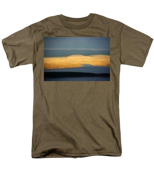 Golden Shores Men's T-Shirt  (Regular Fit) by Leena Pekkalainen
