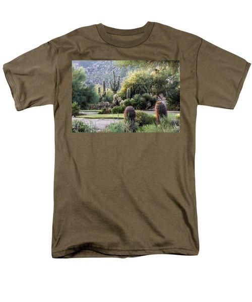 Golf Paradise Men's T-Shirt  (Regular Fit) by Fred Larson