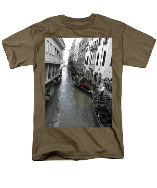 Men's T-Shirt  (Regular Fit) featuring the photograph Gondolier by Laurel Best